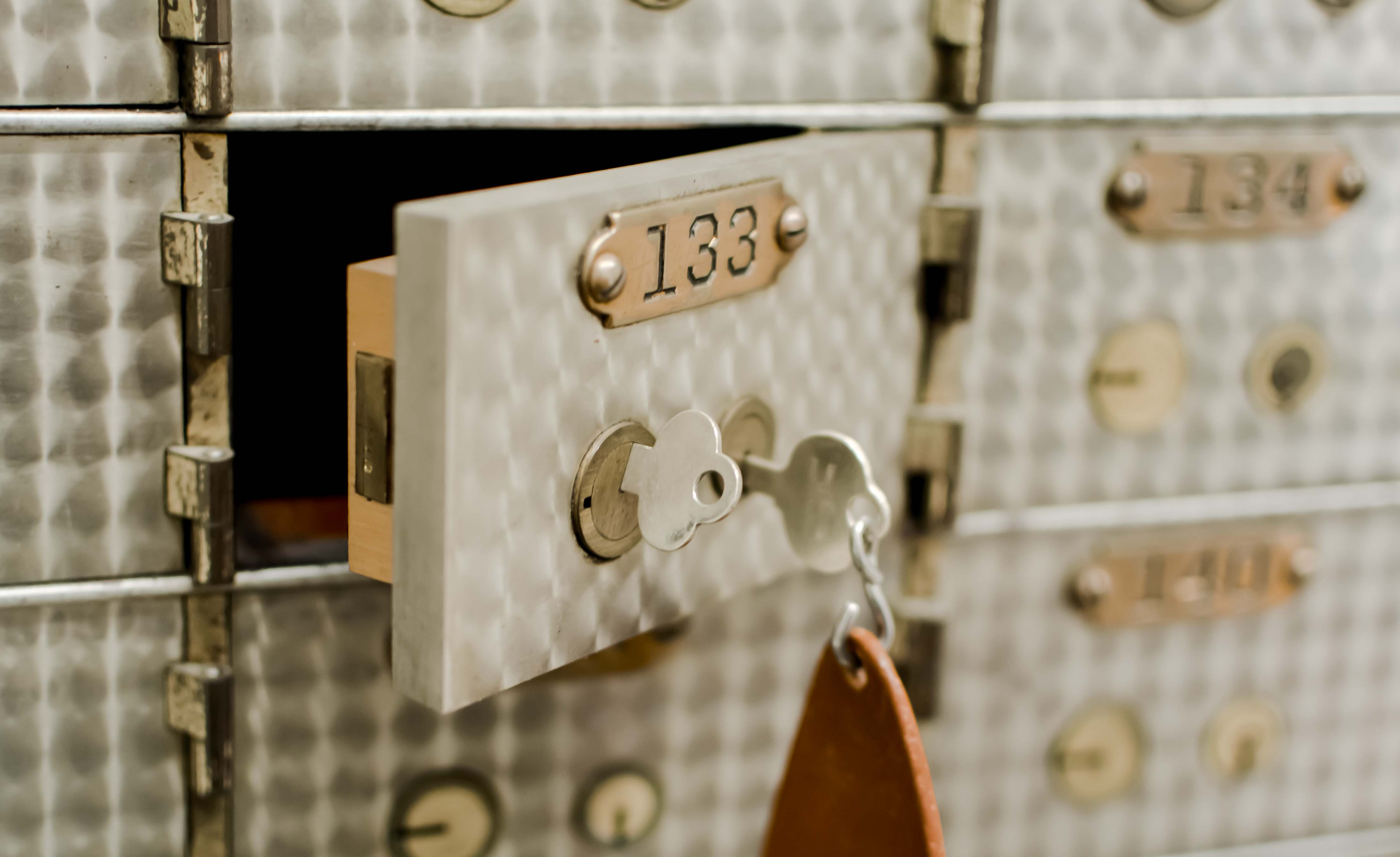 PIcture of safe Deposit Box.